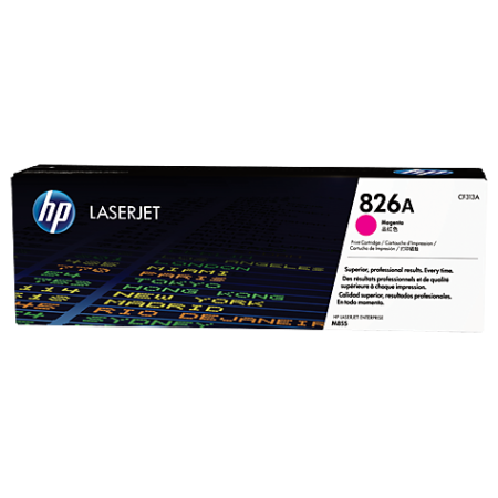 HP 826A Magenta LaserJet Toner Cartridge, пурпурный CF313A
