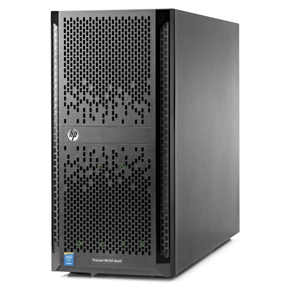 Cервер HPE ProLiant ML150 Gen9  Tower 5U/ Xeon8C E5-2620v4/ 16Gb/ 834608-421