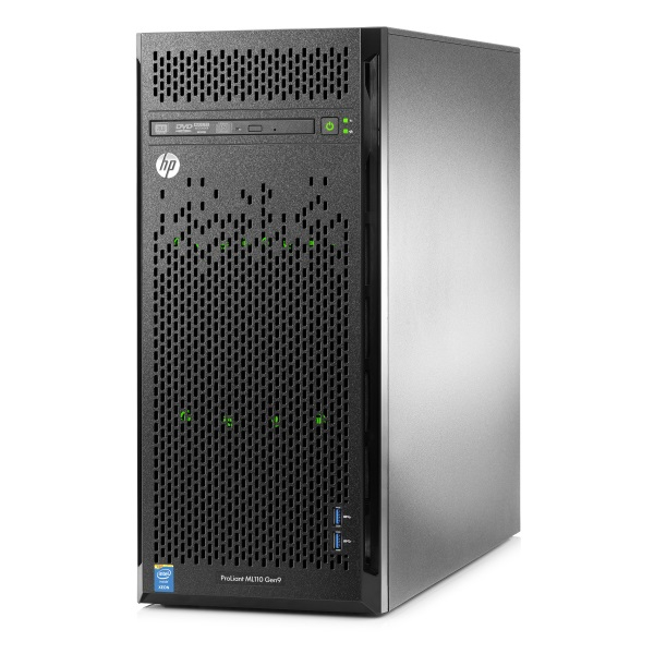 1 Процессорный сервер HPE ProLiant ML110 Gen9 Hot Plug Tower 4.5U/ Xeon8C E5-2620v4. 838503-421