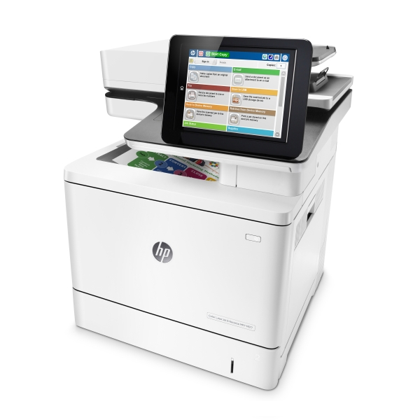 Цветное МФУ HP Color LaserJet Enterprise M577dn,  А4,  B5L46A