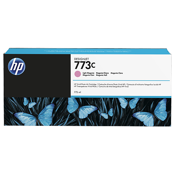 Картридж HP 773C светло-пурпурный для HP DJ Z6600/ Z6800 775-ml (C1Q41A)